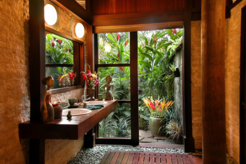 Bali Style Bathroom Ideas